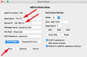 adbFire Device Setup