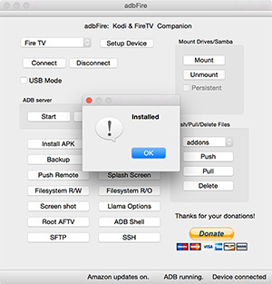 adbFire Install Kodi