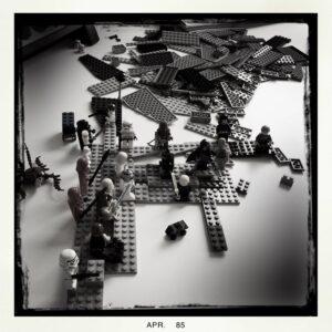 Lego Todesstern Aufbau 1