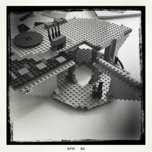 Lego Todesstern Aufbau 2