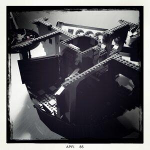 Lego Todesstern Aufbau 3