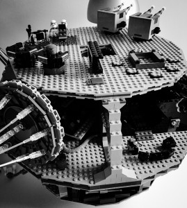 Lego Todesstern Aufbau 4