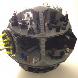 Lego Todesstern Aufbau 5
