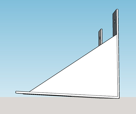 Resistor box wall mount 2