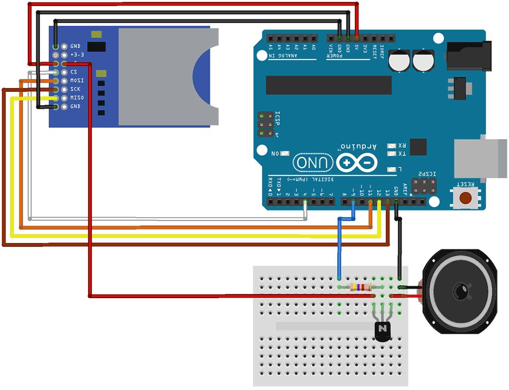 Wav dateien von sd karte mit arduino abspielen zeropage